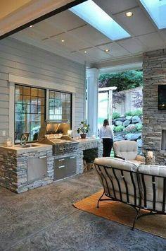 廚房,戶外,客廳