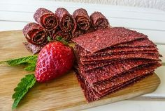 FitGourmet-Recepty Raw Vegan, Vegan Vegetarian, Paleo, Fruit Roll Ups, Gaps Diet, Preserving Food, Preserves, Sweet Recipes, Smoothie