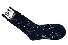 Hands down, the best part of fall and winter is bringing your socks out of hibernation. Up your footwear game with these guys. Funky Socks, Crazy Socks, Cute Socks, My Socks, Black Tees, Matilda, Vetement Fashion, Happy Socks, Constellations