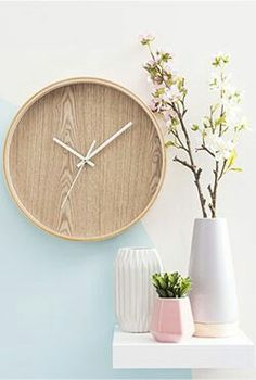 White Marble Wall Clock  Home Furnishings  Pinterest  벽시계, 대리석 및 액자
