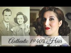 How to Get 1940's Hair in 20 Minutes - TheEyreEffect