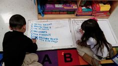 Word Work for Daily 5 In my Kinder Class. By Eye Heart Teaching