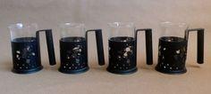 Vintage RARE Disney Irish Coffee Glass Mug With Steel by chriscre, $26.00