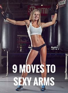 9 bicep sculpting moves to sexy arms in no time. Biceps Workout, Toning Workouts, Workout Tips, Fitness Tips, Fitness Motivation, Health Fitness, Post Pregnancy Body, Workout Results, I Work Out