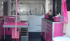 -repinned- Built for mobile grooming business