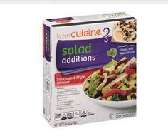 How healthy is this Lean Cuisine Salad Additions product? Gluten free? Non GMO? - Find Non GMO Food Lists at http://www.foodsniffr.com/healthy-food.html?diet=46 - The Best Resource For Healthy Foods, Gluten Free Diet, Vegan Diet, Vegetarian & more