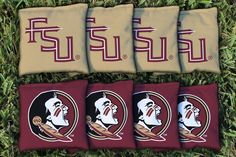 Cornhole All Weather Bag Set - Florida State FSU Seminoles