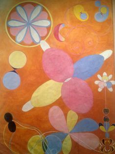The Ten Largest, No. 3 Youth, Group IV, 1907 by Hilma Af Klint on Curiator, the world's biggest collaborative art collection. Wassily Kandinsky, Abstract Painters, Abstract Art, Piet Mondrian, Hilma Af Klint, Oil Painting Reproductions, Visionary Art, Gustav Klimt, Claude Monet