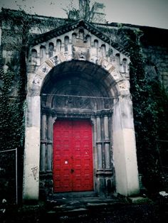 I see a red door and I want to paint it black...