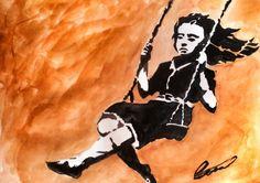 Swing, swing little girl
