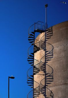 Shadow photography: Double Helix by jdannels