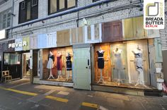 FEVER shop, style inspired by vintage prints and nostalgic silhouettes #retail #design