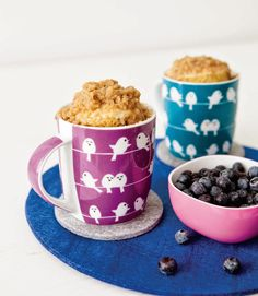 Blueberry Muffin Streusel Mug Cakes  GUYS WE NEED TO HAVE MUG CAKE PARTIES NEXT YEAR OK <3