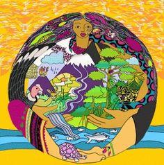 La Pachamama o Mama Pacha es una deidad incaica. Es el núcleo del sistema de creencias de actuación ecológico-social entre los pueblos indígenas de los Andes Centrales de América del Sur.