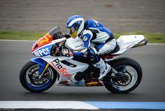 Jodie Chalk on the ProScot.com Triumph  #flickr #britishsuperbikes #BSB #knockhill