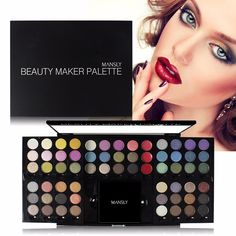 Brand Makeup Set 60 color Eye Shadow + 3 Color Lipstick Long Lasting Waterproof Shadow Platte Matte Lipstick Batom|62050cec-f34e-48be-a8c1-8c7192f7b5bd|Makeup Sets