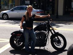 What I would give for this to be of Me and my favorite toy 2011 Harley Davidson Nighster XL1200N