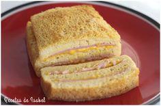 Pastel de jamón york y queso