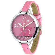 MINI Women's polymer clay watches/waterproof students watch/Cute cat watches Pink