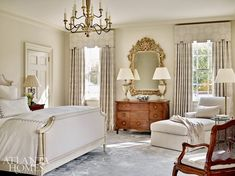 a gorgeous and timelessly elegant Buckhead home! Mix and Chic: Inside a gorgeous and timelessly elegant Buckhead home!Mix and Chic: Inside a gorgeous and timelessly elegant Buckhead home! Dream Bedroom, Home Decor Bedroom, Bedroom Furniture, Classic Bedroom Decor, Serene Bedroom, Luxury Furniture, Bedroom Ideas, Elegant Home Decor, Elegant Homes