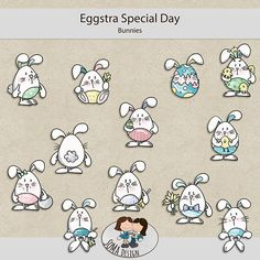SoMa Design: Eggstra Special Day - Bunnies