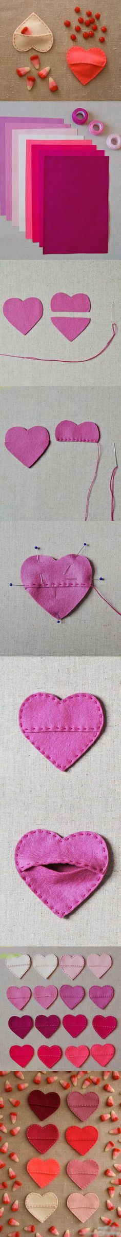 Beautiful Heart-shaped Craft | Click to see More DIY & Crafts Tutorials on Our Site.