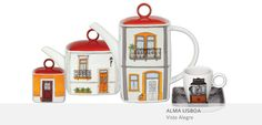 Alma Lisboa 1 by Vista Alegre beautifull gift from my 87 year old grandmother Portuguese Language, Ceramic Design, Deco, Afternoon Tea, Dinnerware, Tea Pots, Portugal, Coffee Mugs, Psp