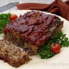 Old Fashioned Meat Loaf Recipe Recipe - ZipList