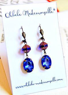 vintage jewelry, vintage earrings, downton abbey earrings, gatsby earrings, wedding earrings