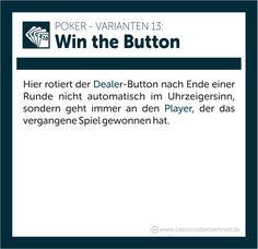 Poker Regeln erklärt Win the button Button, Buttons, Knot