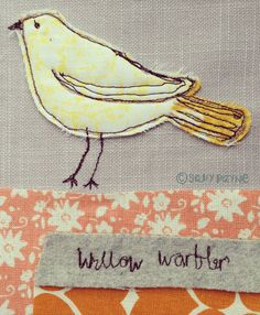 Like the stitchery on this lemonbird-vanillastitch 2014 http://www.vanillastitch.com/2014/04/06/birds/