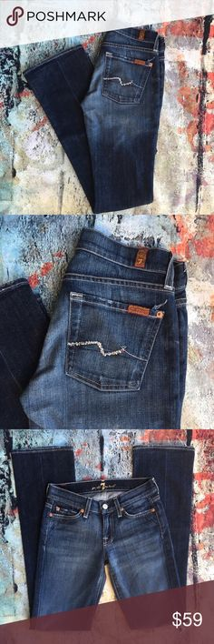 Seven for all mankind rhinestone pocket skinny Seven for all mankind rhinestone pocket 24 x 32 7 For All Mankind Jeans Skinny