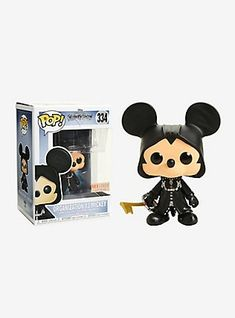 personaggio DISNEY Kingdom Hearts-Organization 13 MICKEY W//Glow Funko Pop