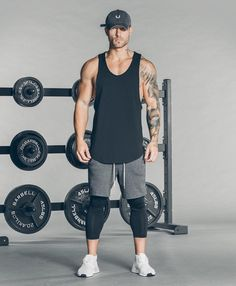 48 Ideas sport gym outfit men for 2019 Sport Fashion, Fitness Fashion, Mens Fashion, Fitness Clothing, Fitness Gym, Mens Fitness, Moda Academia, Gym Outfit Men, Look Man