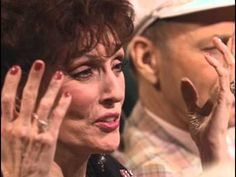 """My very favorite song by Sandi Patty, """"We Shall Behold Him""""! Written by Dottie Rambo, whom you see several times in this video, along with so many other legends of Gospel Music who are now in heaven!"""
