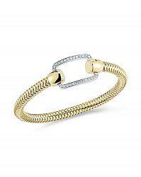 Von Bargen's Jewelry - Primavera Pave Diamond Rectangle Bracelet - 557626AJBAX0