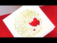 Video: Easy Gold Foil - Jennifer McGuire Ink