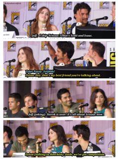 "Haha...lol. Dylan ""We've got competition"
