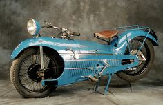 Art Deco Motorcycle ca.1930