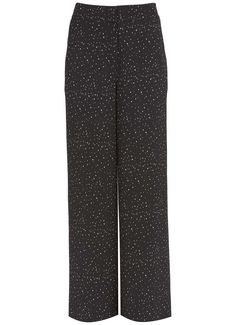 Ivy Print Wide Leg Trouser Scarf Belt, Wide Leg Trousers, Lounge Wear, Ivy, Dressing, Legs, Clothes For Women