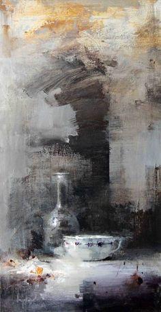 10. Still life V Oleo/lienzo 73 x 38 cm.