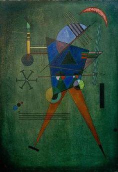 Wassily Kandinsky - Black Triangle