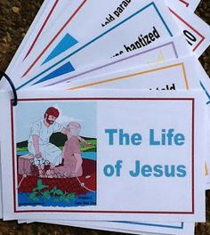 Now if I can just get some ink for my printer......Bible Fun For Kids: Life of Jesus Printables