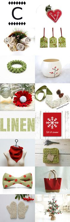 Christmas by Amy and  Michelle on Etsy--Pinned with TreasuryPin.com
