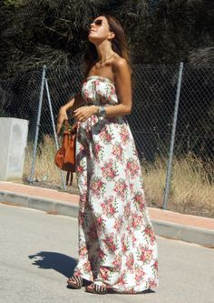 20 Casual Combinations With Maxi Dresses For This Summer