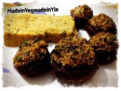Made in Veg...Made in Yle: tortino veg di patate con funghi ripieni #vegan #gf #glutenfree