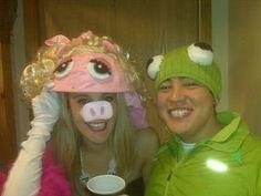 Miss Piggy & Kermit costumes