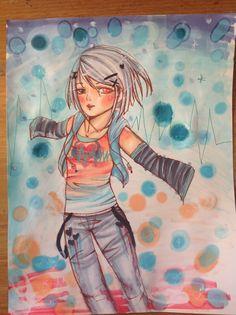 copic art my oc haruki