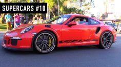 SUPERCARS #10 - Porsche GT3 RS, Ford Mustang e outros carros esportivos!