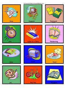 Free Printable Workbox Tags - Robin Sampson's Blog : Robin Sampson's Blog